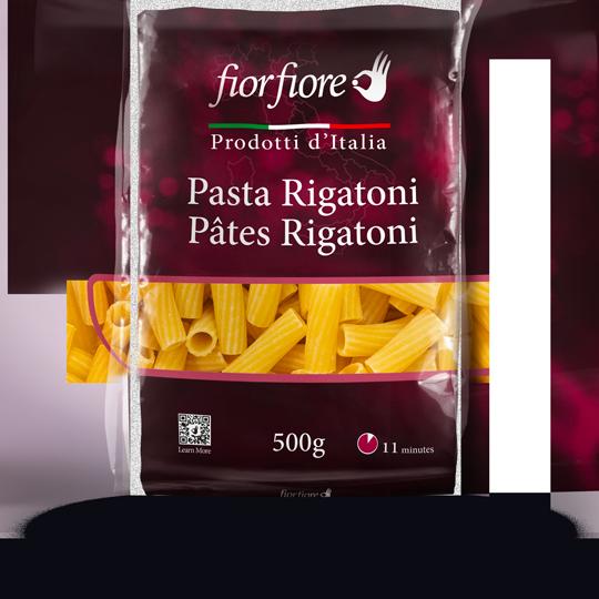 Pâtes Rigatoni
