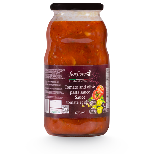 Tomato and olive pasta sauce 673 ml