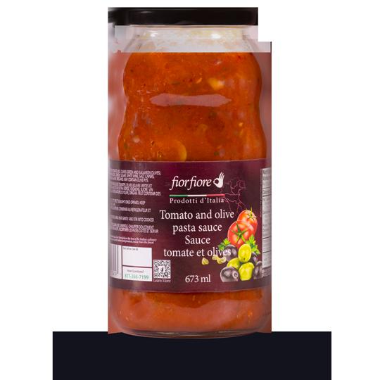 Sauce tomate et olives 673 ml