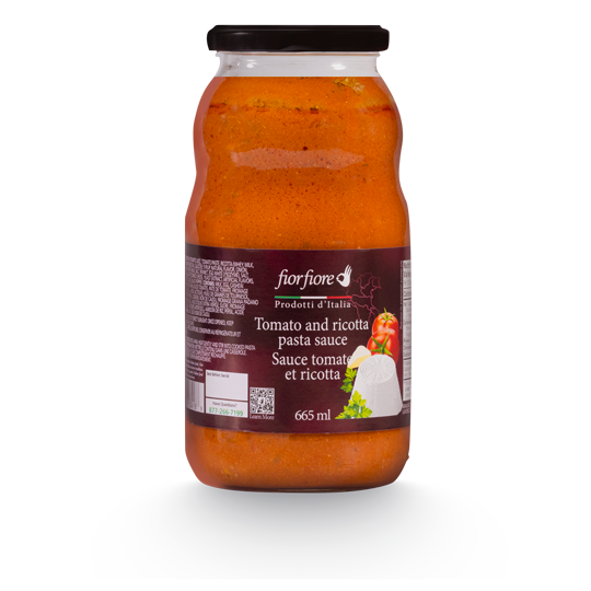 Tomato and ricotta pasta sauce 665 ml