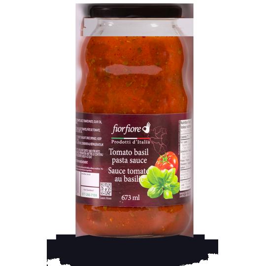 Sauce tomate au basilic 673 ml