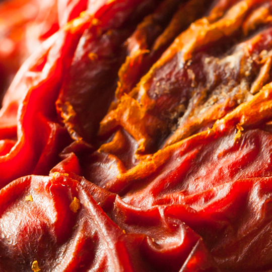 Dried tomatoes in sunflower oil