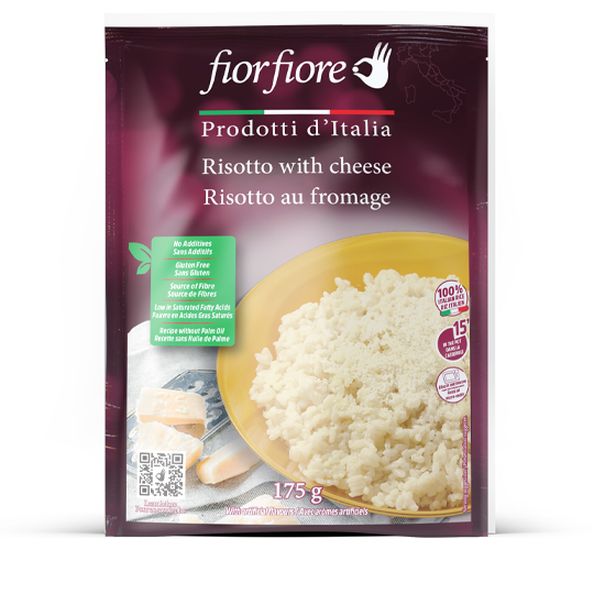 Risotto with cheese